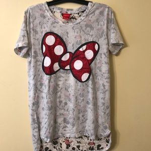Disney Minnie bow shirt
